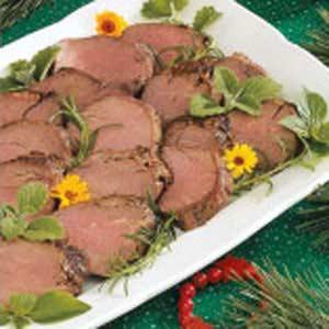 Marinated Beef Tenderloin Recipe