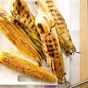 Smoky Grilled Corn on the Cob Recipe