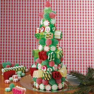 Candy christmas tree recipe taste of home candy christmas tree recipe forumfinder Images