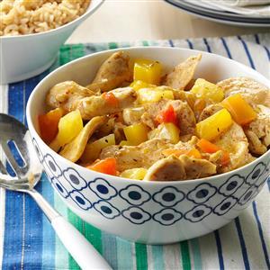 Caribbean Chicken Stir-Fry Recipe