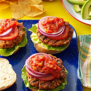 Black Bean Chip & Dip Burgers Recipe