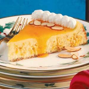 Apricot Swirl Cheesecake Recipe