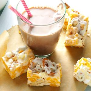 Browned Butter Cereal Bars Recipe