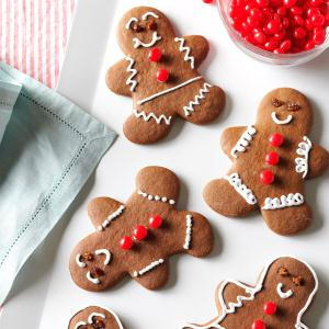Easy Chocolate Gingerbread Cutouts Recipe