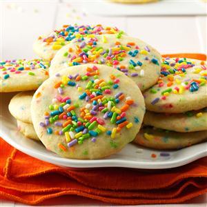 Confetti Cake Batter Cookies Recipe