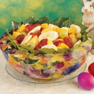 Floral Ice Bowl Recipe