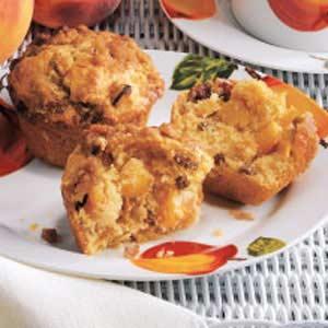 Peach Praline Muffins Recipe