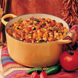 Garden Harvest Chili Recipe