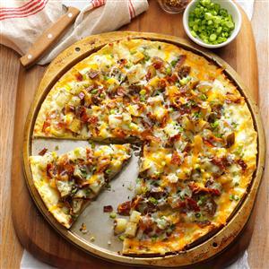 Baked Potato Pizza Recipe