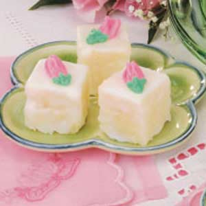 Pretty Petits Fours Recipe