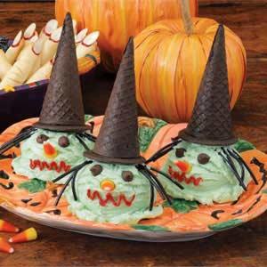 Bewitching Ice Cream Cones Recipe