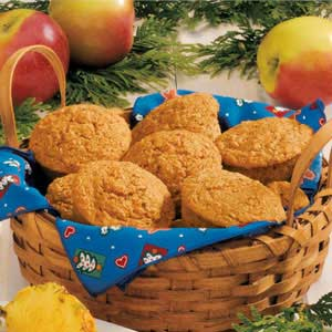 Hearty Carrot Muffins Recipe