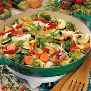 Colorful Vegetable Medley Side Dish Recipe