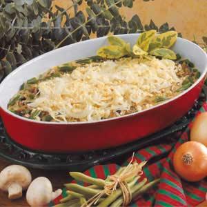 Savory Green Bean Casserole Recipe