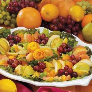 Fresh Fruit with Balsamic Vinaigrette Recipe