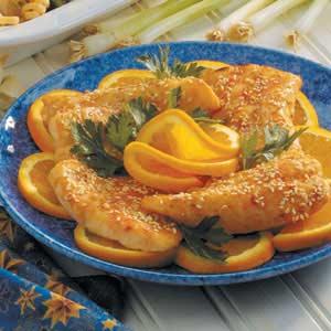 Marinated Orange Roughy Recipe