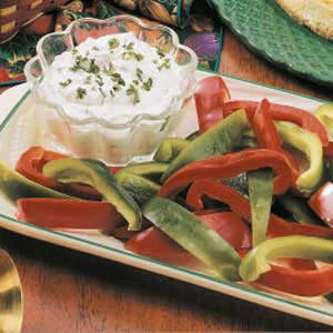 Very Low fat veggie dip recipe like her