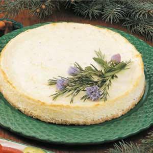 Savory Swiss Cheesecake
