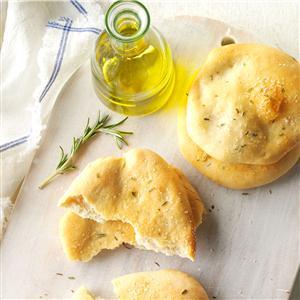 Rosemary Flatbreads Recipe