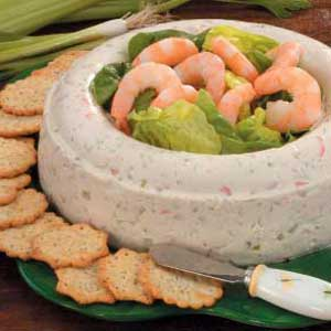 Molded Shrimp Spread Recipe