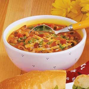 Black-Eyed Pea Soup with Ham Recipe