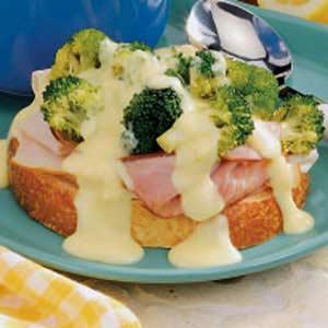 Open-Faced Sandwich Supreme Recipe