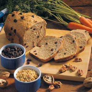 Carrot Raisin Bread Recipe