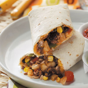 Hearty Burritos