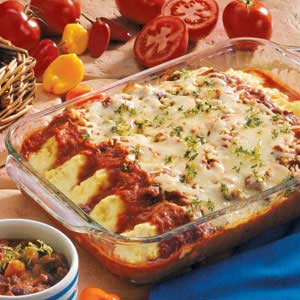 Chili Manicotti Recipe