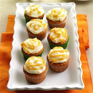 Autumn Pumpkin Cupcakes Recipe