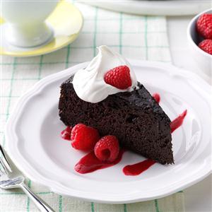 Almond Fudge Cake Recipe