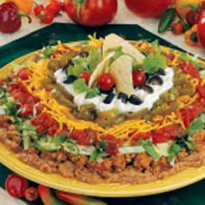 Mexican Fiesta Dip Recipe