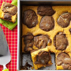 Gingerbread-Pumpkin Cheesecake Bars Recipe