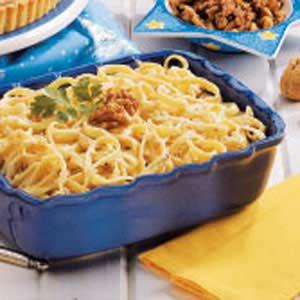 Walnut Cream Pasta Recipe