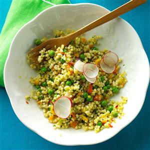 Peas & Pepper Pasta Salad Recipe