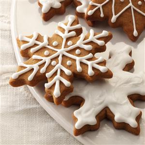 Gingerbread Snowflakes