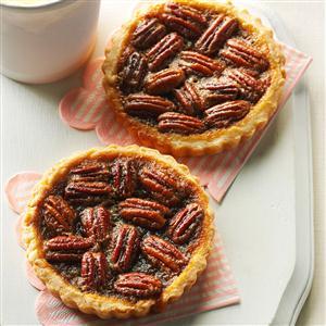 Maple Pecan Tarts Recipe