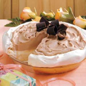 Frozen Chocolate Mint Pie Recipe