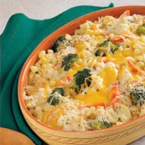 Cheesy Vegetable Medley Recipe