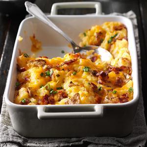 Loaded Twice-Baked Potato Casserole