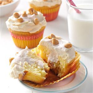Peanut Butter & Jelly Cupcakes Recipe
