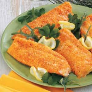 Baked Parmesan Fish Recipe