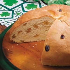 Irish Soda Bread with Raisins Recipe