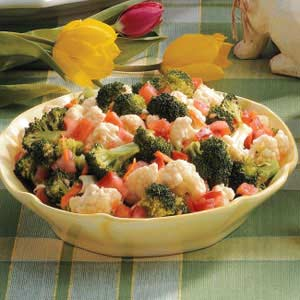 Broccoli Vegetable Salad Recipe
