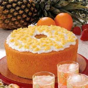 Orange Pineapple Chiffon Cake Recipe