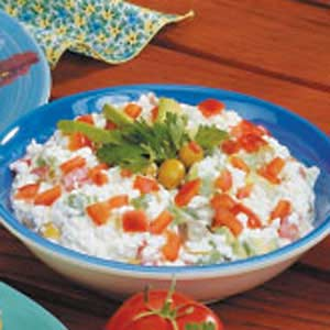 Cottage Cheese Veggie Salad Recipe