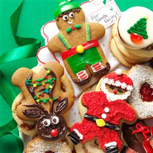 Gingerbread Cutout Christmas Cookies Recipe