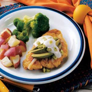 Breaded Chicken with Avocado Recipe