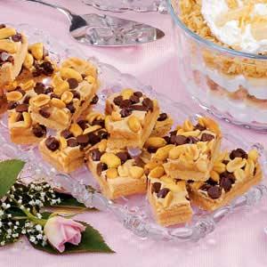 Peanut Chocolate Bars Recipe