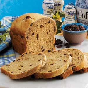 Coffee Raisin Bread Recipe